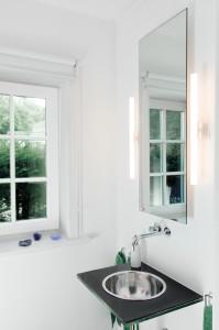 Infrarotheizung als Spiegelheizung im Bad
